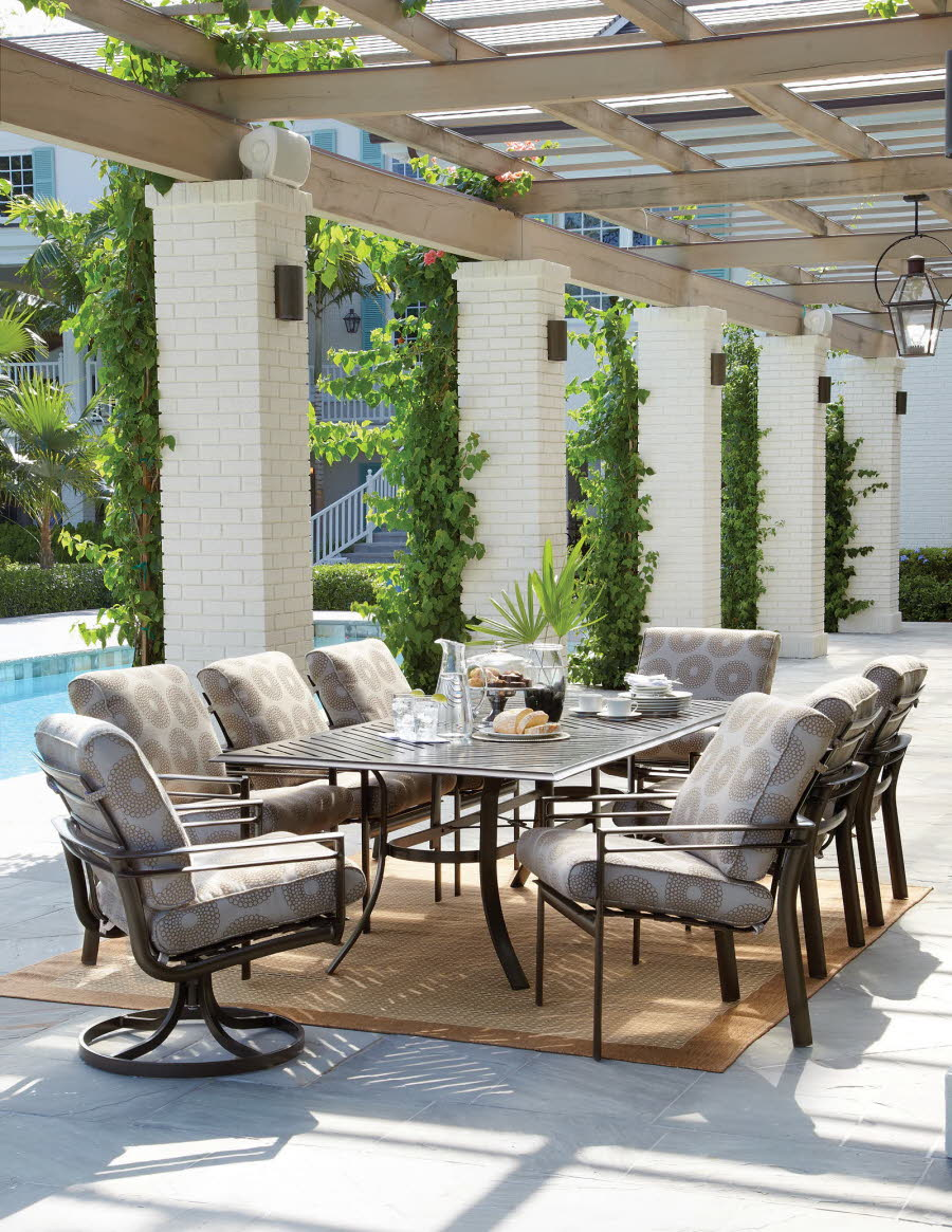 Outdoor furniture collections table collections winston for Winston patio furniture