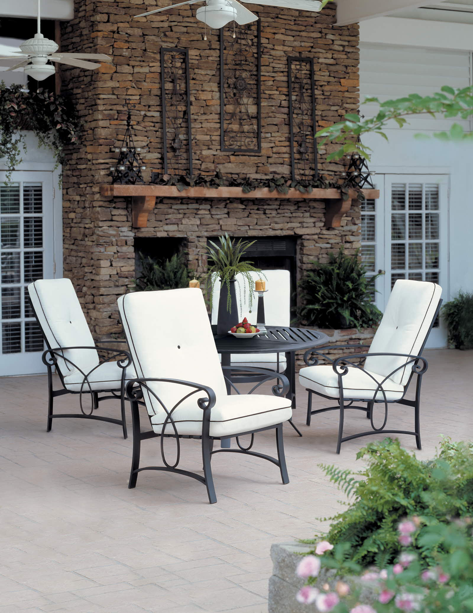 Ocean Breeze Patio Furniture Palazzo Cushion White Patio Outdoor Winston Furniture